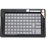 Programmable keyboard LPOS-084 with electromechanical key (black)
