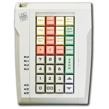 Programmable keyboard LPOS-032