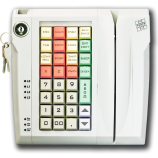 Keyboard LPOS-032 with electro-mechanical key and card reader