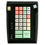 Keyboard LPOS-032 with fingerprint (black)