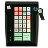 Keyboard LPOS-032 with touch key (black)