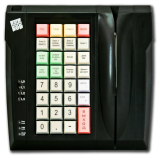Keyboard LPOS-032 with card reader (black)