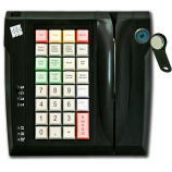 Keyboard LPOS-032 with touch key and card reader (black)
