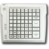 Keyboard LPOS-064 with grey keys
