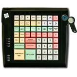 Keyboard LPOS-064 with touch key (black)