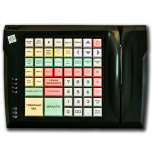 Keyboard LPOS-064 with card reader (black)