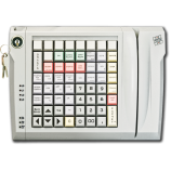 Keyboard LPOS-064  with electro-mechanical key and card reader