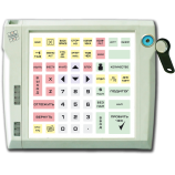 Programmable protected keyboard LPOS-064P with touch key