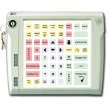 Programmable protected keyboard LPOS-064P with electromechanical key