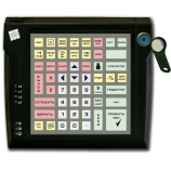 Programmable protected keyboard LPOS-064P with touch key (black)