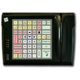 Programmable protected keyboard LPOS-064P with card reader (black)