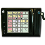 Programmable protected keyboard LPOS-064P with touch key and card reader (black)