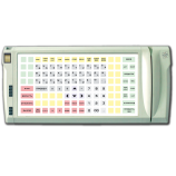 Programmable protected keyboard LPOS-128P with fingerprint and card reader