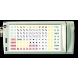 Программируемая защищенная клавиатура LPOS-128P с электромеханическим ключом и считывателем магнитных карт