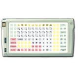 Programmable protected keyboard LPOS-128P with fingerprint