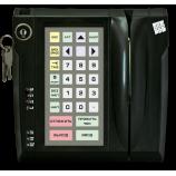 Програмована захищена клавіатура LPOS-032P з електромеханічним ключем та зчитувачем магнітних карток (чорна)