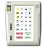 Programmable protected keyboard LPOS-032P with fingerprint