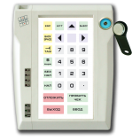 Programmable protected keyboard LPOS-032P with touch key