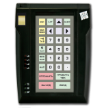 Programmable protected keyboard LPOS-032P with fingerprint (black)