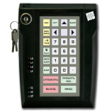 Programmable protected keyboard LPOS-032P with electro-mechanical key (black)