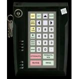 Програмована захищена клавіатура LPOS-032P з електромеханічним ключем (чорна)