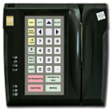 Programmable protected keyboard LPOS-032P with fingerprint and card reader (black)