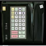 Програмована захищена клавіатура LPOS-032P зі сканером відбитка пальця та зчитувачем магнітних карток (чорна)