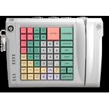 Клавиатура LPOS-064-QUDCOM-USB с электромеханическим ключом и считывателем магнитных карт