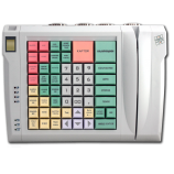 Keyboard LPOS-064-QUDCOM-USB with fingerprint and card reader