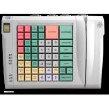 Клавиатура LPOS-064-QUDCOM-USB со сканером отпечатка пальца и считывателем магнитных карт