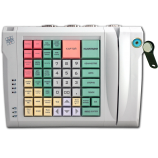 Keyboard LPOS-064-QUDCOM-USB with touch key and card reader