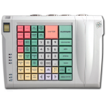 Keyboard LPOS-064-QUDCOM-USB with fingerprint