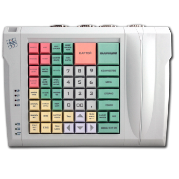 Programmable LPOS-064-QUADCOM-USB keyboard