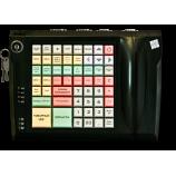 Клавиатура LPOS-064-QUDCOM-USB с электромеханическим ключом (черная)