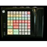 Keyboard LPOS-064-QUDCOM-USB with card reader (black)