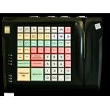 Клавиатура LPOS-064-QUDCOM-USB со сканером отпечатка пальца и считывателем магнитных карт (черная)