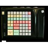 Клавиатура LPOS-064-QUDCOM-USB со сканером отпечатка пальца (черная)