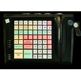 Клавиатура LPOS-064-QUDCOM-USB с touch ключом и считывателем магнитных карт (черная)