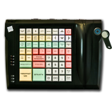 Keyboard LPOS-064-QUDCOM-USB with touch key (black)
