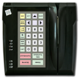 Programmable protected keyboard LPOS-032P with card reader (black)