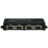 Перетворювач FTDI-QUADCOM з 4 віртуальними СОМ-портами, вигляд сзаду