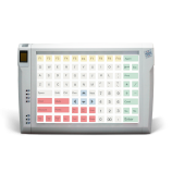 Programmable protected keyboard LPOS-096P with fingerprint
