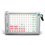 Programmable protected keyboard LPOS-096P with touch key