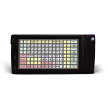 Programmable protected keyboard LPOS-128P with fingerprint and card reader (black)