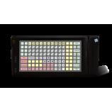 Програмована захищена клавіатура LPOS-128P зі сканером відбитка пальця та зчитувачем магнітних карток (чорна)