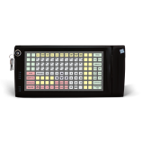 Programmable protected keyboard LPOS-128P with electro-mechanical key and card reader (black)