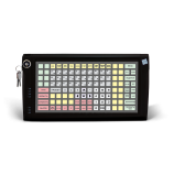 Програмована захищена клавіатура LPOS-128P з електромеханічним ключем (чорна)