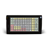 Programmable protected keyboard LPOS-128P with fingerprint (black)