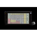 Програмована захищена клавіатура LPOS-128P зі сканером відбитка пальця (чорна)