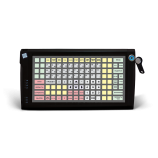 Programmable protected keyboard LPOS-128P with touch key (black)